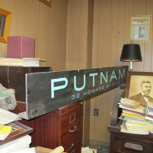 On the far right you can see a picture of founder Samuel Putnam.