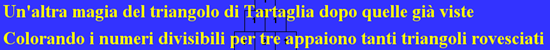 altra magia del tr. Tartaglia