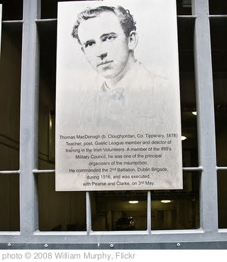 'Thomas MacDonagh - Easter Rising 1916' photo (c) 2008, William Murphy - license: http://creativecommons.org/licenses/by-sa/2.0/