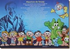 Cartonista Mauricio de Sousa. Nov.2013