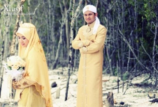 Gambar-Perkahwinan-Imam-Muda-Hassan-Dan-Ulfah-2