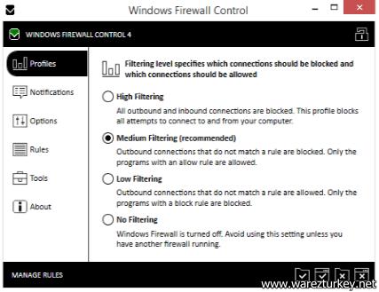 BiniSoft Windows Firewall Control v4.8.5.0