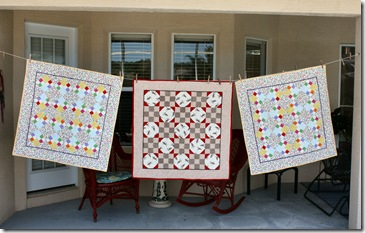 3 baby quilts