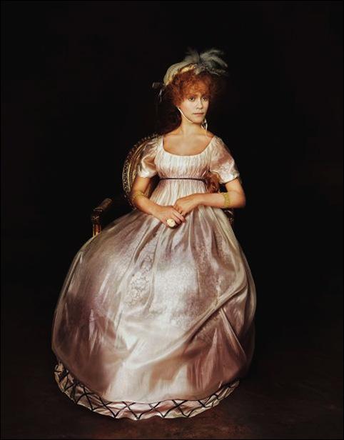 Manuel Outumuro_María León. 'La condesa de Chinchón', de Goya