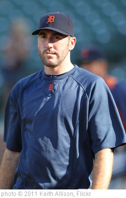 'Justin Verlander' photo (c) 2011, Keith Allison - license: http://creativecommons.org/licenses/by-sa/2.0/