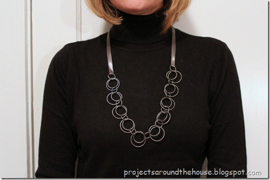 Easy 10 minute diy necklace