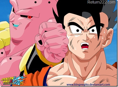 super_buu_vs_gohan_by_kingvegito-d3ivozi