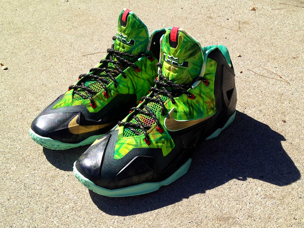 Nike LeBron XI 8220Kings Rings8221 by Lancer Customs
