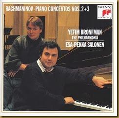 Rachmaninov Concierto piano 2 Bronfman Salonen