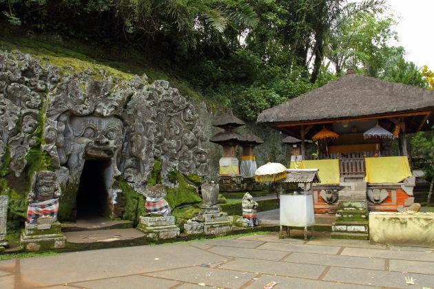 Goa Gajah Cave Temple of Ubud, Bali