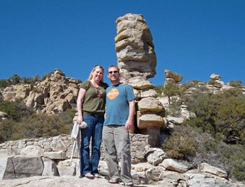 Bill and Kim at Windy Point