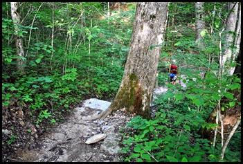 05 - short downhill hike to Rock Garden Trailhead