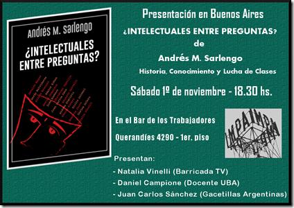 01 - 11 - 14 - Presentacion Intelectuales en IMPA