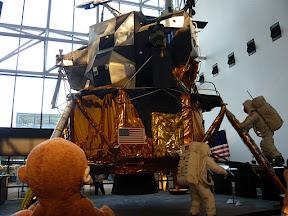 CM w/ the moon lander