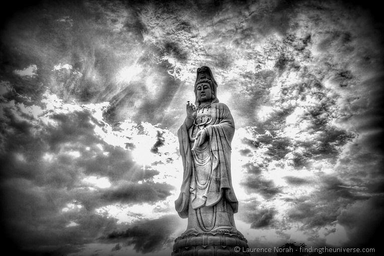 Buddha statue Kanchanburi Thailand