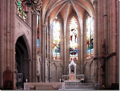 Katedral sacred Heart Interior