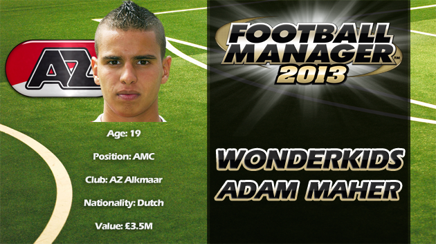 FM13 Wonderkid Review - Adam Maher