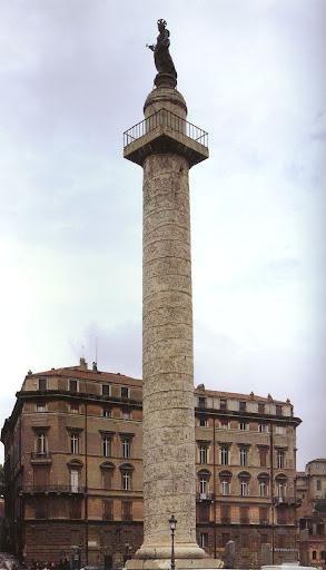 古代美术-罗马 图拉真纪念柱