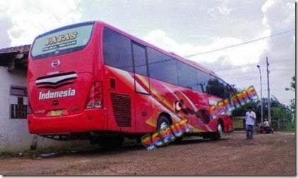 Naik Bus PO Indonesia dari Surabaya ke Jepara
