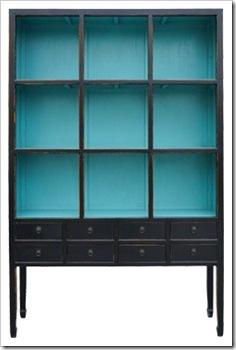 chines preto com azul