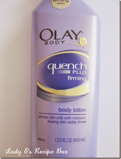 olay quench plus firming lotion