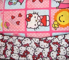 fabric Hello Kitty