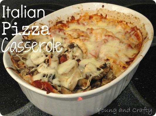 Italian Pizza Casserole 2