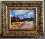 Valley of Fire framed