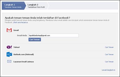 Langkah #2 Membuat Akun Facebook