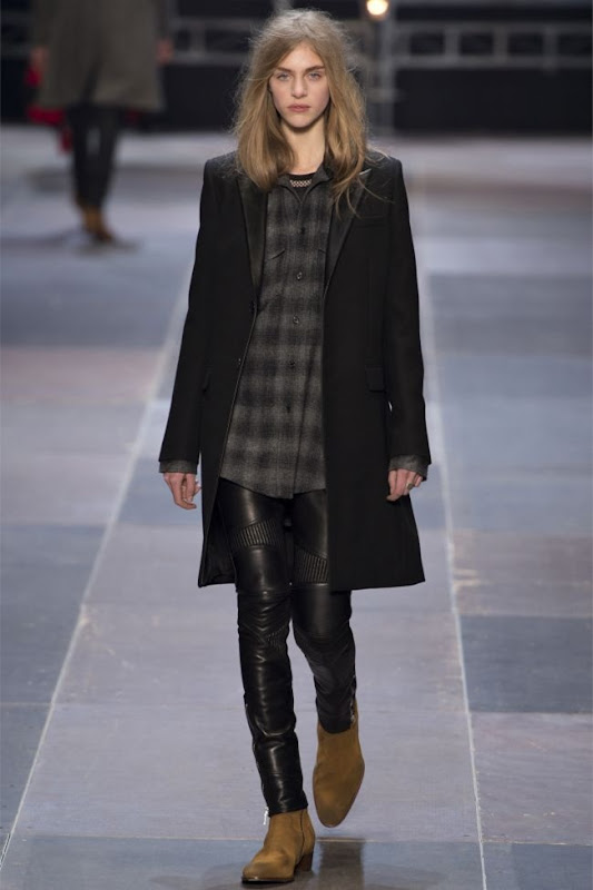 saint laurent androgenous