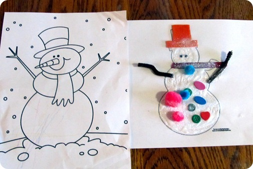 Snowman Craft Projects