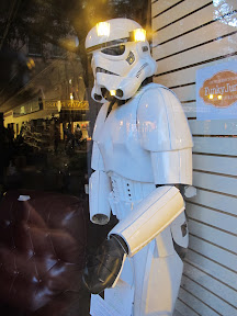 A lost Stormtrooper in the Ithaca Commons