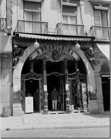 Café A Brasileira do Chiado 1960