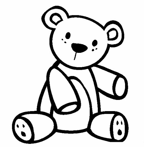 Dibujos para colorear ositos for Teddy coloring pages