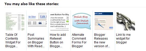 membuat related post atau artikel terkait dengan gambar thumbnails di blogspot