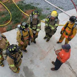 Basic Firefighter Training Class - Live Fire Exercise