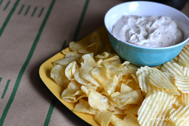Ranch French Onion Dip - Easy and great for the Big Game!