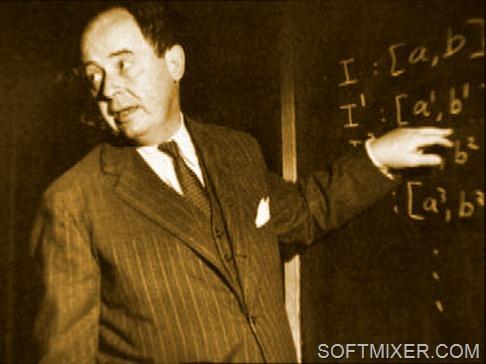 Фон Нейман в компании ведущих физиков мира противостоял тайнам квантовой механики, а также с экономистами связывал...