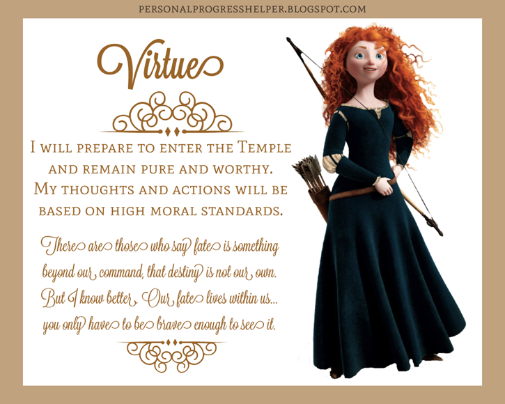 Young Women's Values with Disney Princesses: Virtue