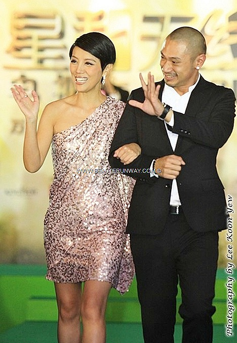 Starhub TVB Awards 2012 ceremony Hong Kong Winners actor actress host Astrid Chan King Kong Marina Bay Sands Singapore Green Carpet Gala Night StarHub TV VV Drama Channel 855 video On Demand services - Internet TV VOD Mobile TV VOD