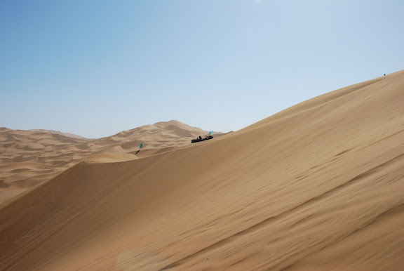Dunes - Touristes en buggy
