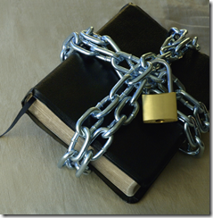 chains on bible