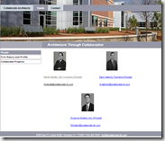 LSCS collaborate architects web page