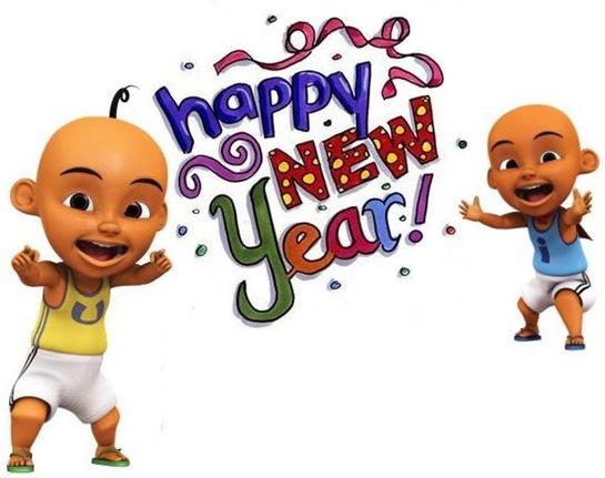 selamat tahun baru ipin upin