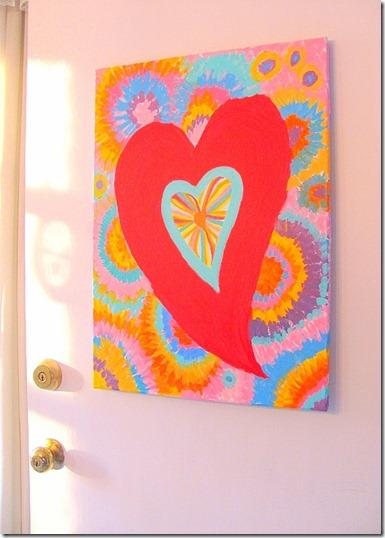 Valentine painting