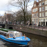 cruise thru the canals in Amsterdam, Noord Holland, Netherlands