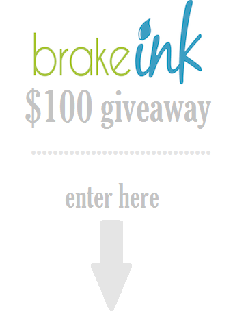 Brake Ink giveaway