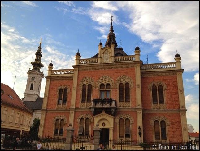 Saborna Crkva and Vladičanski dvor Novi Sad
