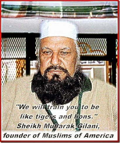 Sheikh Mubarak Ali Gilani - Jamaat al-Fuqra Leader