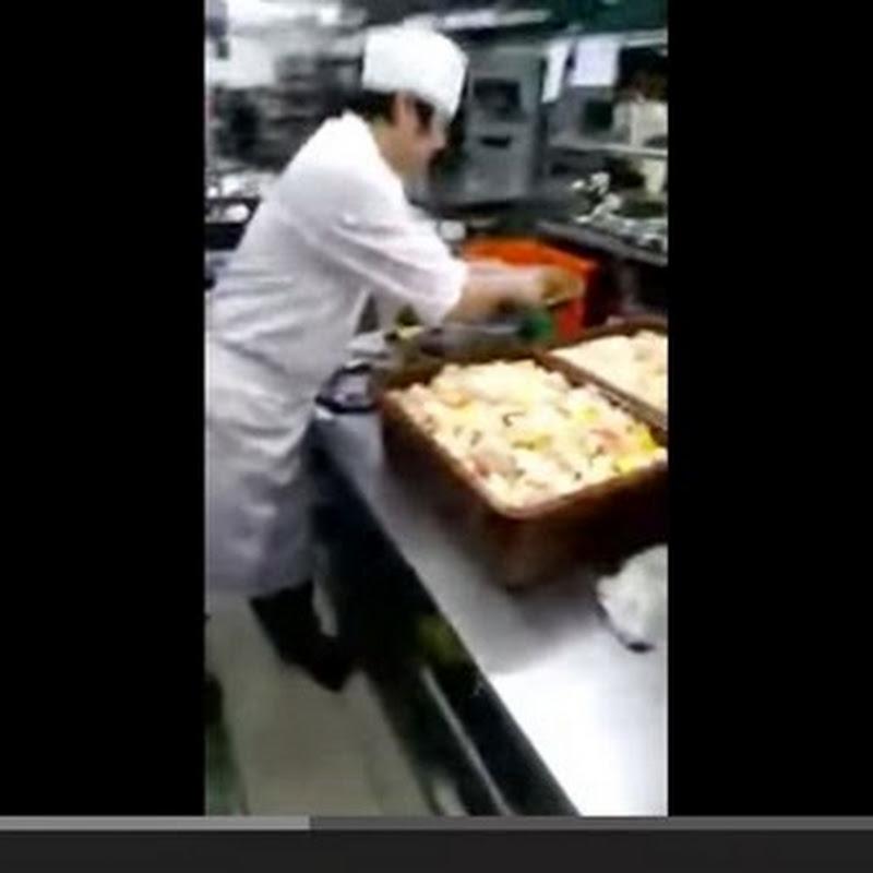 Μαγειρεύοντας για εξήντα άτομα σε μία κίνηση